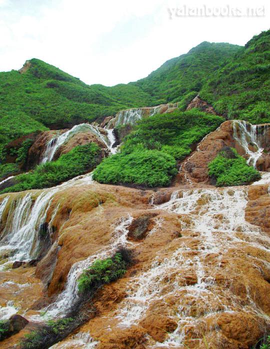 Taiwan Golden Waterfall Romanticism  Photography 台湾 黄金瀑布 风光摄影 浪漫主义 Yalan雅岚 黑摄会